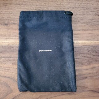 サンローラン(Saint Laurent)のSAINT LAURENT 巾着 小物入れ 未使用(ポーチ)