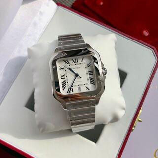 Cartier - 超極美品  カルティエ Cartier サントス 腕時計