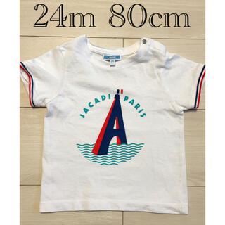 ジャカディ(Jacadi)の美品 ジャカディ Tシャツ 24m 80-85cm(Tシャツ)
