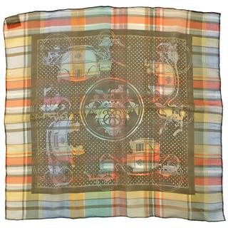 エルメス(Hermes)のエルメス  スカーフ  カレ55 CARRE   マルチカラー(スカーフ)