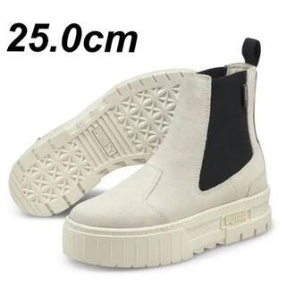 PUMA - 【新品未使用】プーマ ブーツ チェルシー スウェード 25.0cm