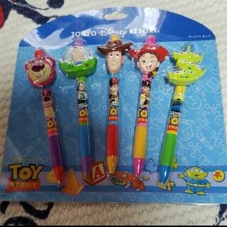 ディズニー(Disney)のトイストーリー ボールペン 5本セット(キャラクターグッズ)