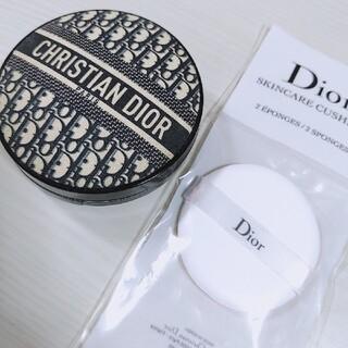 Christian Dior - Dior クッションファンデケース、スポンジ