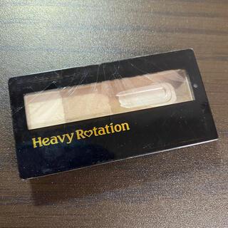 ヘビーローテーション(Heavy Rotation)のキスミー ヘビーローテーション アイブロウパウダー 02アッシュブラウン(パウダーアイブロウ)