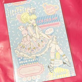 Angelic Pretty - ♡Ice Cream Parlor ポストカード アイス♡