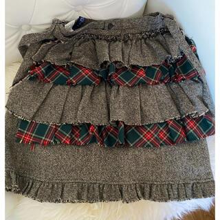 バツ(BA-TSU)のba-tsu タイトミニスカート クリスマス タータンチェック(ミニスカート)