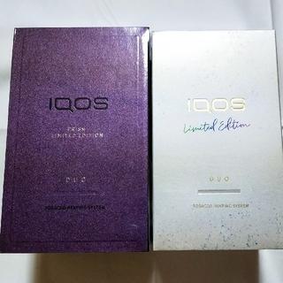 IQOS - IQOS3 DUO アイコス デュオ プリズムモデル ムーンシルバー セット