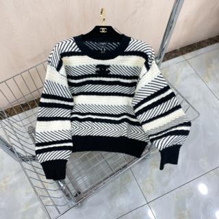 CHANEL - CHANEL セーター ロゴ 新作 cc ボーダー