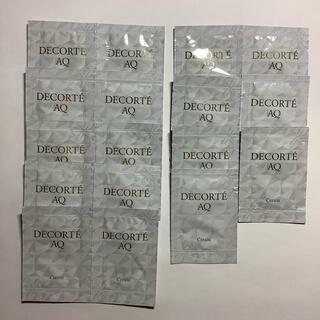コスメデコルテ(COSME DECORTE)のコスメデコルテ AQ クリーム サンプル(フェイスクリーム)