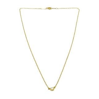 Tiffany & Co. - ティファニー 1PD バイザヤード  ネックレス ゴールド