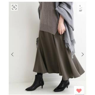 IENA - イエナIENA☆ マーメイドフレアデザインスカート☆36グレー