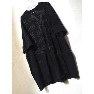 ユリウス(JULIUS)の格安早い者勝ち! NILOS RMX.エクストラオーバーカットソー black(Tシャツ/カットソー(半袖/袖なし))