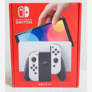 ニンテンドウ(任天堂)のNintendo Switch  有機ELモデル 本体 ホワイト 新品未使用(ゲーム)