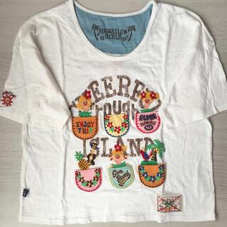 rough - 刺繍 Tシャツ