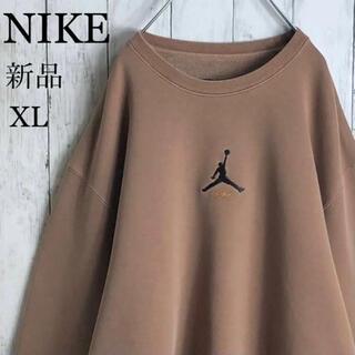 ナイキ(NIKE)の【新品】【両面デザイン】ナイキ 刺繍ロゴ ジョーダン スウェット XL 肉厚(スウェット)