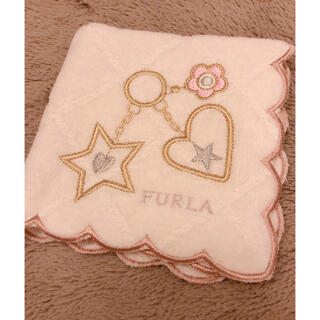 Furla - フルラ   チャーム風 ハンカチ