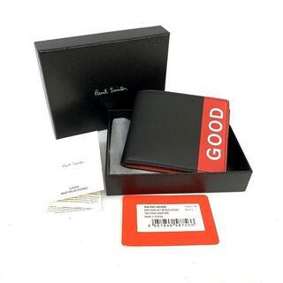 ポールスミス(Paul Smith)の未使用 保管品 Paul Smith ポールスミス GOODロゴ 二つ折り財布 (折り財布)