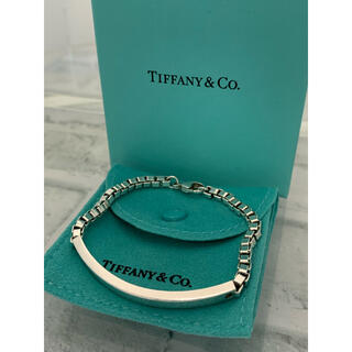 Tiffany & Co. - 美品 TIFFANY ティファニー ベネチアン IDブレスレット メンズ