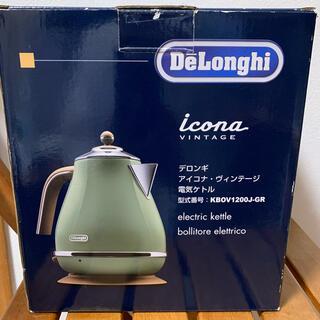 DeLonghi - デロンギ★アイコナ・ヴィンテージ電気ケトル【美品】
