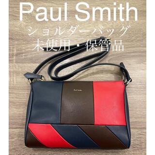 Paul Smith - Paul Smith ポールスミス ショルダーバッグ アングルストライプ 未使用