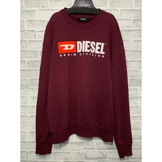 ディーゼル(DIESEL)のDIESEL ディーゼル 刺繍 ビッグ ロゴ レトロ スウェット オーバーサイズ(スウェット)