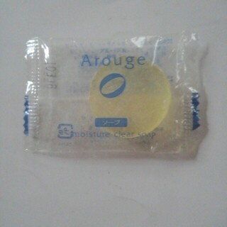 アルージェ(Arouge)の試供品 アルージェ モイスチャー クリアソープ アルージェS 枠練り サンプル(洗顔料)