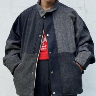 ハリスツイード(Harris Tweed)のHarris Tweed Fabric Patchwork Jacket(テーラードジャケット)
