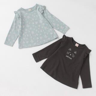 petit main - プティマイン プティプラ プチプラ トップス Tシャツ カットソー 長袖