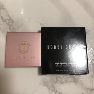 BOBBI BROWN - 新品 ボビイブラウン ミニハイライティングパウダー 限定品 L01 ピンクグロウ