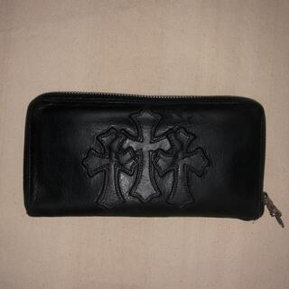 Chrome Hearts - 正規品クロムハーツREC F ZIP3セメタリークロスレザー財布