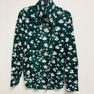 H&M - シャツ ミッキー ミッキーマウス mickey H&M 緑 グリーン ディズニー