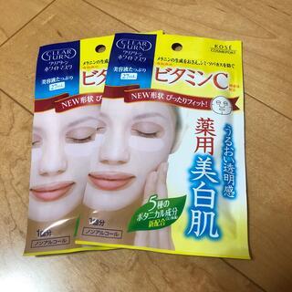 コーセーコスメポート(KOSE COSMEPORT)のクリアターン ホワイトマスク 2枚(パック/フェイスマスク)