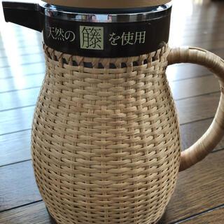 象印 - 象印 天然籐ポット 希少品 昭和レトロ 未使用品 ZOJIRUSHI 象印魔法瓶