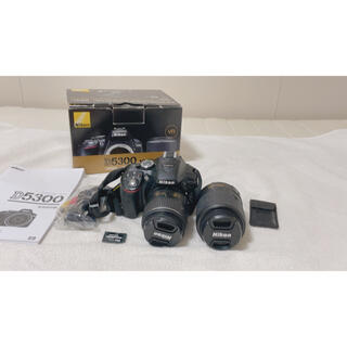 Nikon - ニコン 一眼レフ NikonD5300  ダブルズームキット