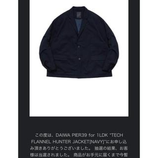 ワンエルディーケーセレクト(1LDK SELECT)のDAIWA PIER39 TECH FLANNEL HUNTER JACKET(テーラードジャケット)