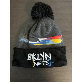 ニューエラー(NEW ERA)のニューエラ ニット ビーニー ブルックリン ネッツ バスキア(ニット帽/ビーニー)