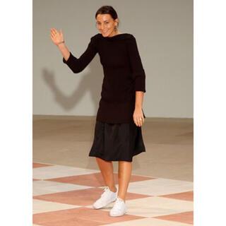 セリーヌ(celine)の2018aw フィービー期 定価95050円ギャバジンスカート(ひざ丈スカート)