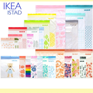 IKEA - IKEA イケア ジップロック 100枚  ISTAD /フリーザーバッグ