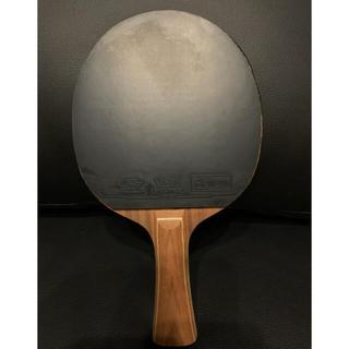卓球 ラケット ローズウッド7枚合板 FL ラバー付き