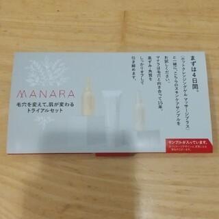マナラ(maNara)のマナラ 4日間セット(サンプル/トライアルキット)