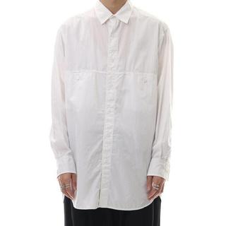 Yohji Yamamoto - Yohji Yamamoto POUR HOME 19AWフロント切り替えシャツ
