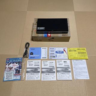SHARP - 訳ありリモコン無 アクオス ブルーレイレコーダー BD-W1100 2012年製