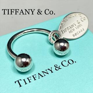 ティファニー(Tiffany & Co.)の新品仕上 ティファニー リターントゥ オーバルタグ キーリング シルバー 925(キーケース)