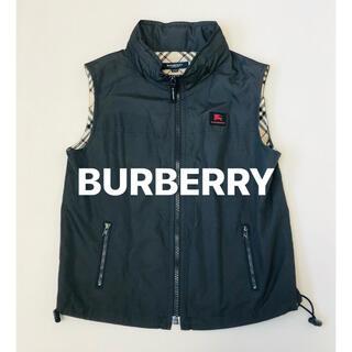 BURBERRY - バーバリー BURBERRY ベスト フード収納付き 美品 140