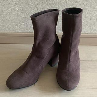 ユニクロ(UNIQLO)の新品未使用 ユニクロ ブーツ ストレッチショートブーツ サイズ22.5cm(ブーツ)