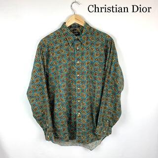 クリスチャンディオール(Christian Dior)のChristian Dior VINTAGE 総柄 長袖シャツ(シャツ)