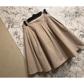 エムズグレイシー(M'S GRACY)のエムズグレイシー  ふんわりスカート(ひざ丈スカート)