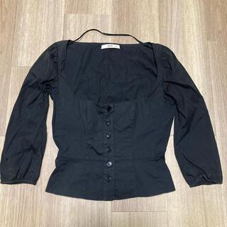 プラダ(PRADA)の売り切れ vintage prada コルセットシャツ(シャツ/ブラウス(長袖/七分))