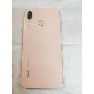 HUAWEI - 【美品】HUAWEI P20 Lite サクラピンク 32 GB SIMフリー