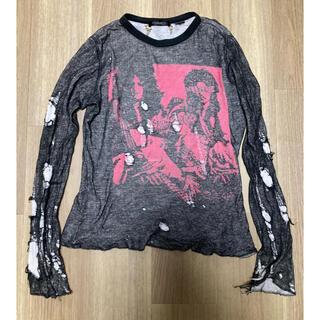 ヒステリックグラマー(HYSTERIC GLAMOUR)の売り切れ 90s Hysteric Glamour ガーゼ ロンt(Tシャツ/カットソー(七分/長袖))
